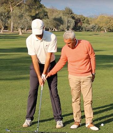 ecole de golf adulte débutant